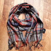 Мужской шарф в клетку размер 162х28 см 13-69 Ю