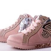 Модные демисезонные ботиночки для девочек