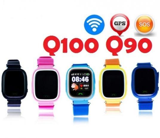 Original ® детские умные смарт часы q100 q90 . фото №1