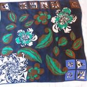 Подписной шелковый платок 88*87,5