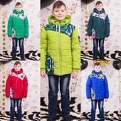 Весенняя куртка для мальчика POLO,122-152,37