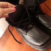 Продам мужские зимние ботинки. Состояние идеальное, обувались лишь раз. Размер 41 , стелька 26,5 см.
