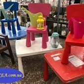 Стол детский Mammut, прямоугольный Икеа (Ikea) В наличии!