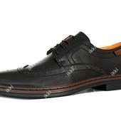 41 р Мужские стильные туфли классические (3215-1)