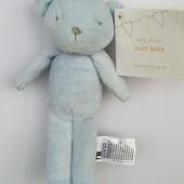 Мишка my first blue bear Mothercare