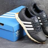 Кроссовки мужские Adidas Neo темно синие
