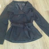 Пальто демисезонное, женское, б/у. Размер 48(L).