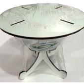 Кукольный круглый стол для барби