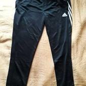 Спортивные штаны фирменные лёгкие Adidas climalite р.50-52 XXL
