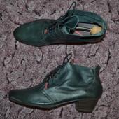 Р. 42 - 27,5 см. Tamaris. Ботинки на шнуровке, ботильоны деми . Фирменные, оригинал.