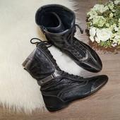 (39р./25,5см) Geox! Оригинал! Кожа! Классные ботинки на низком ходу в спортивном стиле
