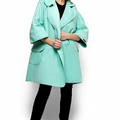 Пальто зарина ментол