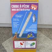 Складная походная мини-удочка + катушка, ручка