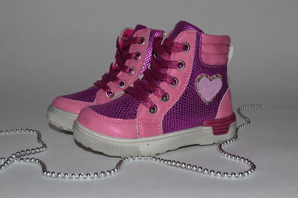 Ботинки демисезонные для девочки. фото №1