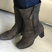 Сапоги ботинки Gabor 38р 24,5см Еврозима