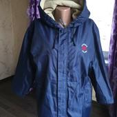 Converse куртка деми на флисе р-р L