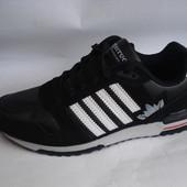 Мужские кроссовки situo 41-46р черные с белым