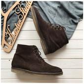 Замшевые ботинки р-р 43