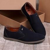 Стильные легкие мужские туфли