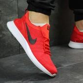 Мужские кроссовки сетка Nike red