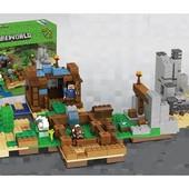 Конструктор Minecraft Lepin 18030 Хижина на острове , 664 дет.