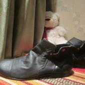 Ботинки (деми) nobrand р.42.натур.кожа(большемерят).оригинал.