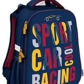 Рюкзак школьный каркасный 531 Car racing к18-531м-1