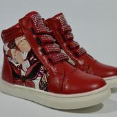 демисезонные ботинки для девочки 26-31
