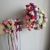 Весенние обручи с цветами на утренник, выпуск. В наличии