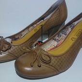 Туфли женские, кожаные, Marco Tozzi, размер 42