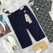 Джинсовые шорты насыщенного синего цвета!  SR1806132