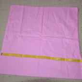 наволочка розовая средняя 60 см