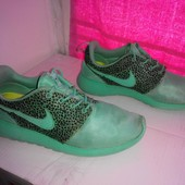 "№2134 кроссовки Nike Roshe Run ""safari pack"" – crystal mint 41"