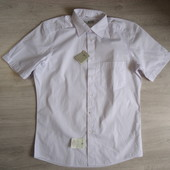 Рубашка белая с коротким рукавом Royal Class Германия, р. 40