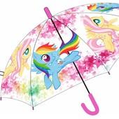Зонтик My Little Pony прозрачный (зонтики, детский зонтик, зонт, зонты)