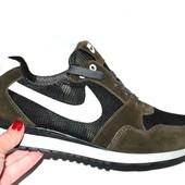 Демисезонные замшевые кроссовки, разные цвета
