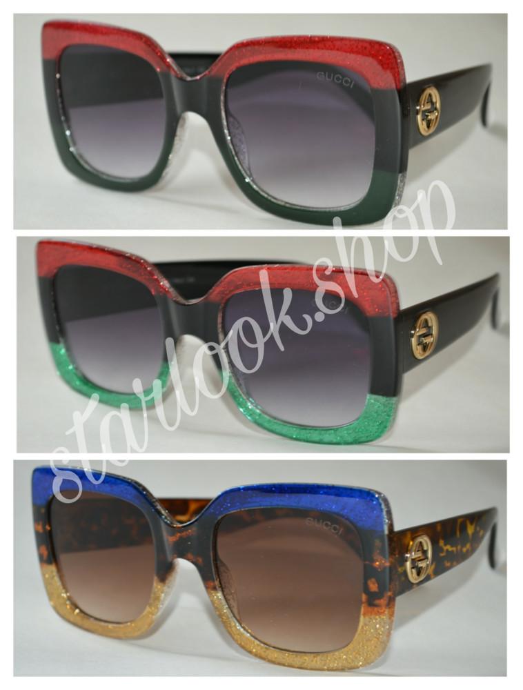 f42a62fcf3af Солнцезащитные очки gucci женские классика, цена 200 грн - купить ...