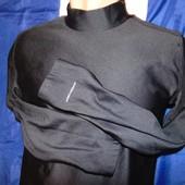 Спортивная утепленная термо кофта водолазка рашгард гольф бренд Layer8 (Лайер8).м-л