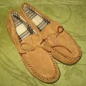 Мокасины туфли , 45 р-р 29 см  стелька, новые, верх нат.замш 300 грн.
