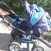 Акция! коляска - трансформер Baby Lux ( Беби Люкс) зима-лето+подарок