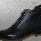 Ботинки  деми кожа натуральная  , с 36-40р.