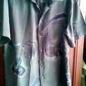 Красивая рубашка, большой размер, нюанс