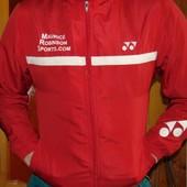 Спортивная фирменная мастерка олимпийка кофта Yonex (Йонекс) s-m .унисекс