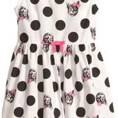 Платье с котятами H&M (3-4 года)