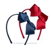 Красивый обруч H&M бантики.Цена за набор.Синий и красный цвет.