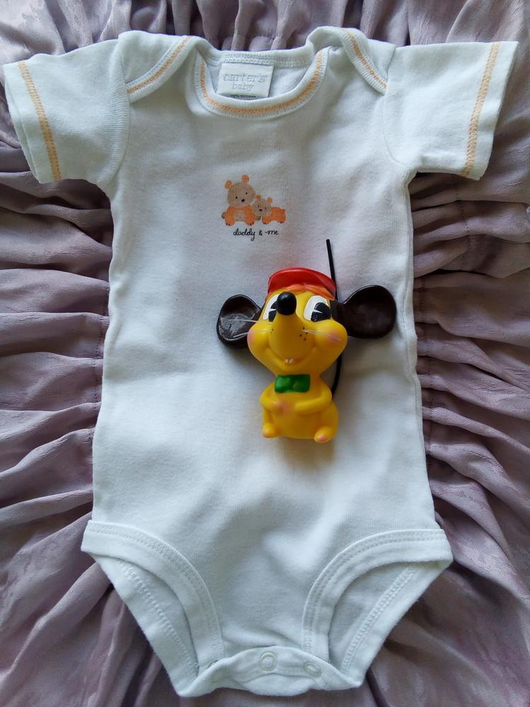 Бодик carter's baby рост 60-70 см фото №3