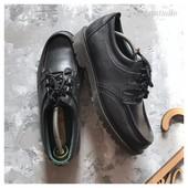 Кожаные туфли топ сайдеры Padders рр 43
