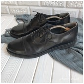 Кожаные туфли оксфорды рр 43