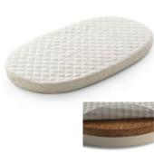 Матрас в овальную кроватку Ingvart Smart Bed 60/72-120 кокос - латекс