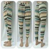 Оригинальные,удобные зауженные штаны Pull and Bear на манжете.Размер S.